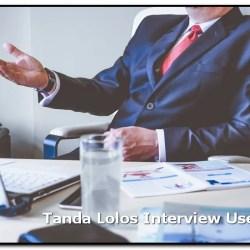 Tanda Lolos Interview User