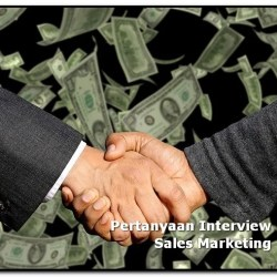 pertanyaan interview sales marketing
