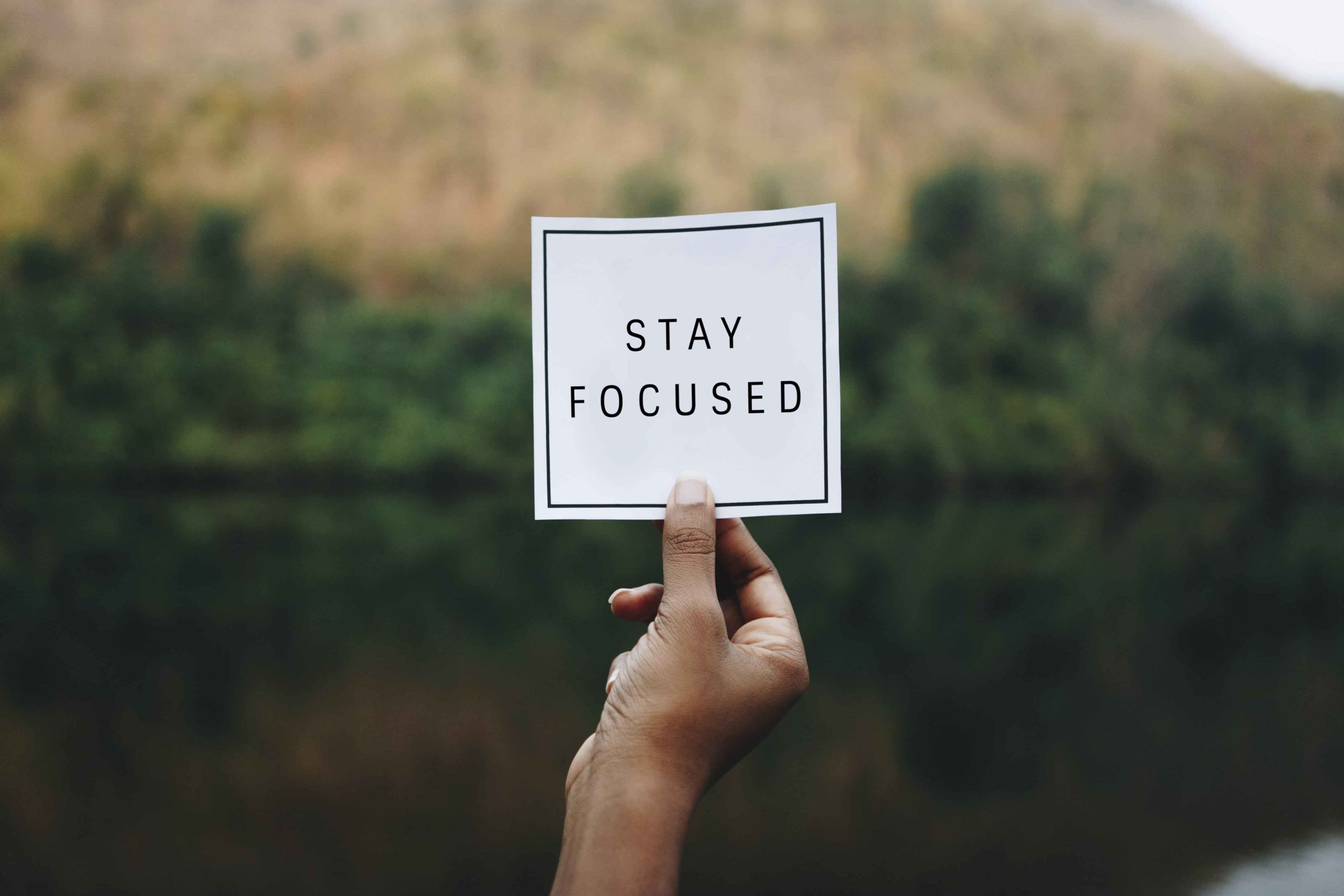 Stay Focused – 6 Tips for Nepalese Youths on Staying Focused