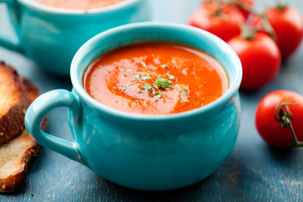 Tomato Soup: 5 Steps Recipe for Tantalizing Red Delicacy
