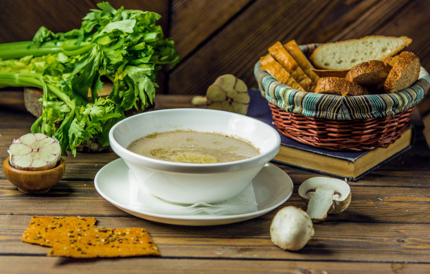 Mushroom Soup: 4 Steps To alluring recipe for Warmth