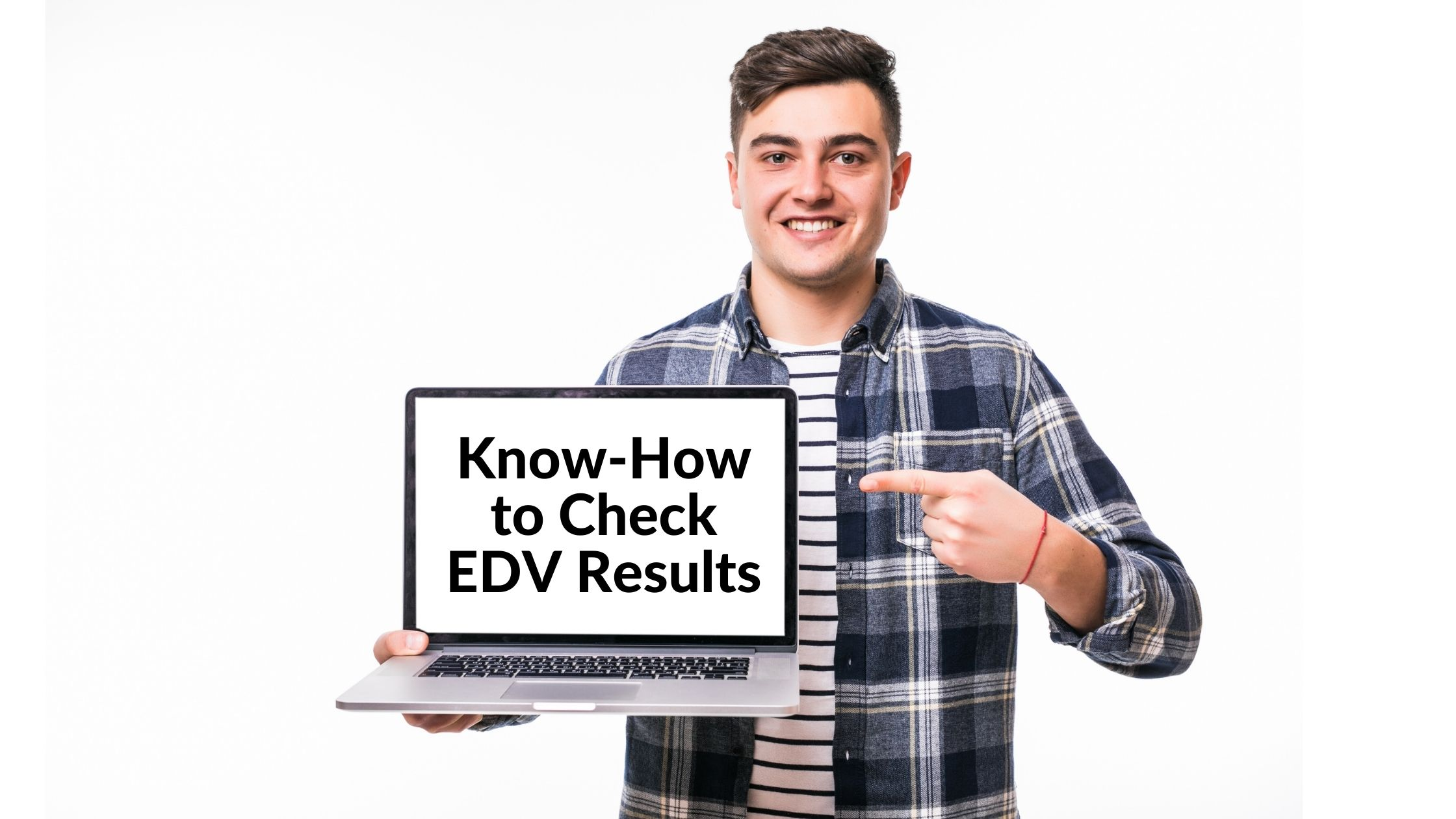 How to check EDV results in 2022