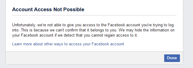 What to do when Your Facebook account gets Hacked?