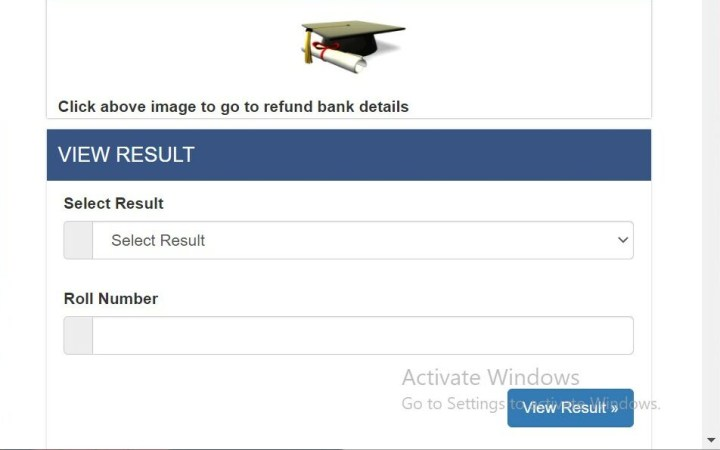How to check TU results with mark sheet via SMS?