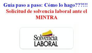 Guia solvencia laboral