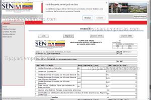 seniat declaracion seniat venezuela