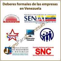 deberes formales de las empresas en venezuela