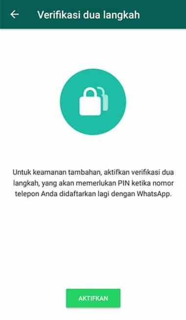tips agar WhatsApp aman