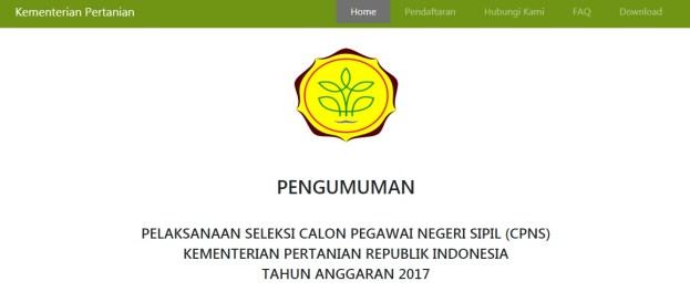 Pengumuman Hasil Seleksi Administrasi CPNS 2017 Periode 2 semua Instansi