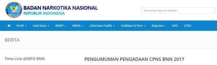 Petunjuk Cara Daftar CPNS BNN 2018 Lulusan SMA D3 S1, Bagaimana Mekanisme dan Alur Cara Pendaftaran CPNS BNN 2018.