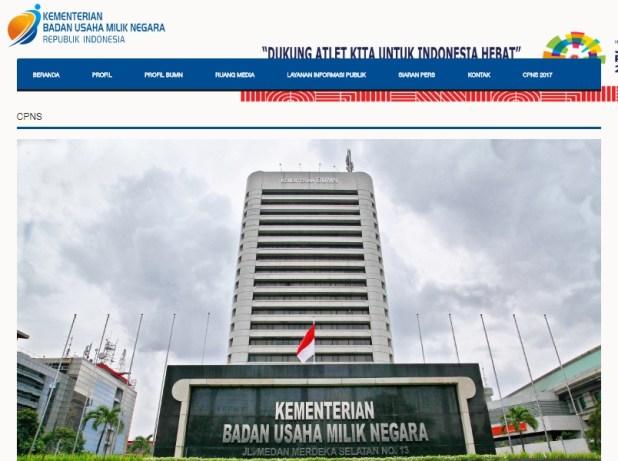 Hasil SKB KemenBUMN Kelulusan Akhir CPNS Kementerian BUMN 2017