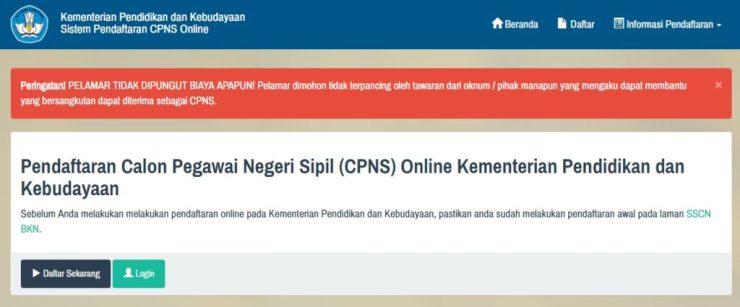 Jadwal dan Lokasi Ujian SKD Seleksi Kompentisi Dasar CPNS Kemendikbud