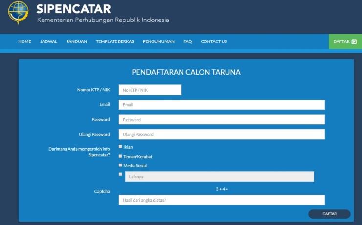 Jadwal Lokasi Seleksi Penerimaan SipenCatar BPSDM DEPHUB Jalur Reguler 2018