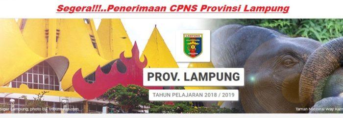 Pengumuman Hasil Tes CAT SKD CPNS Provinsi LAMPUNG 2018 Seleksi Kompentensi Dasar.