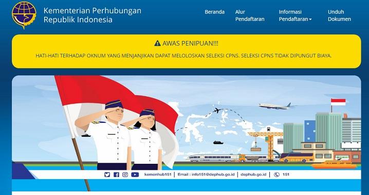 Download Contoh Format Surat Lamaran Pernyataan Seleksi CPNS 2018 Kemenhub