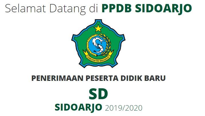 Jadwal dan Syarat Cara Pendaftaran PPDB SD Negeri Kab Sidoarjo 2019.