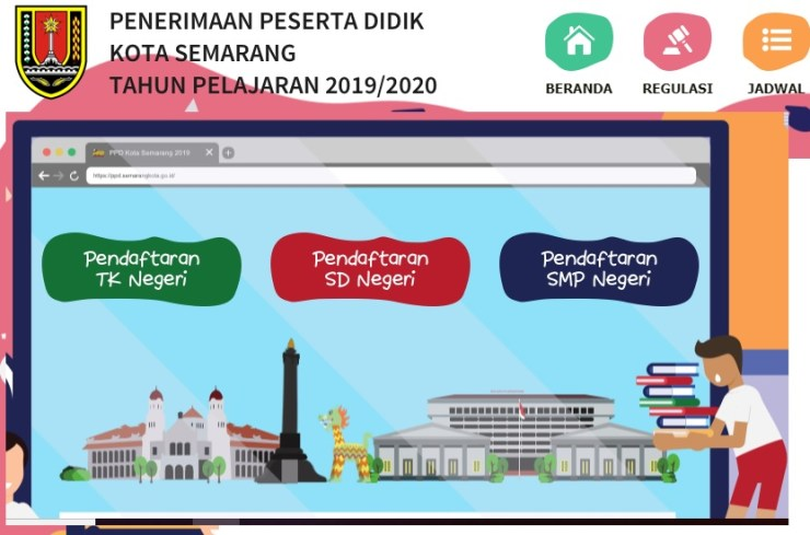Hasil Seleksi PPDB Online SMP Negeri Kota Semarang 2019/2020, Pengumuman Hasil PPDB SMPN Kota Semarang.