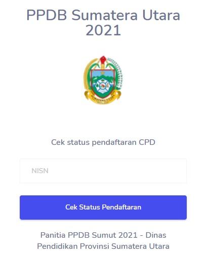 Cek hasil pendaftaran ppdb sma smk prov SUMUT 2021