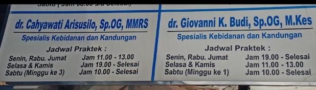 Dokter Kandungan Terbaik Di Jember lengkap dengan Alamat Jadwal Prakteknya dan No Telepon