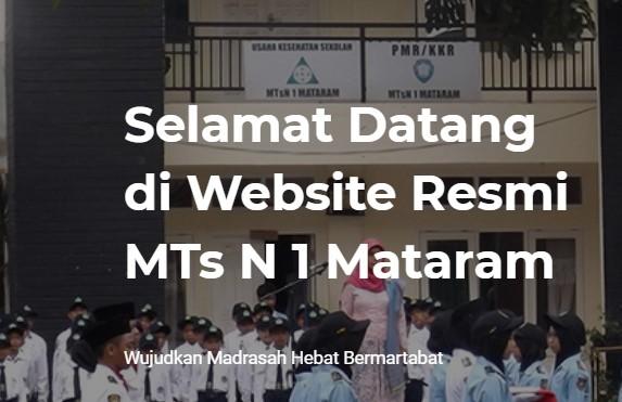 Pengumuman Hasil Seleksi PPDB MTsN 1 Kota Mataram 2021