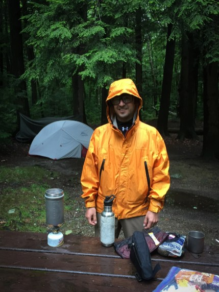 We made it back to camp just in time to make dinner, drink some single malt, and head to bed before the bulk of the forecasted storms made their way in for the night.