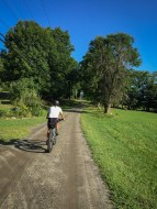 This is what it is all about - riding through picturesque mountains on gravel roads with good friends on a perfect day.