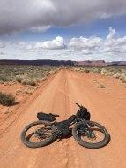 Desert miles are long.... but stunning.