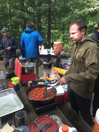 Chorizo breakfast! (Photo: Gulin)