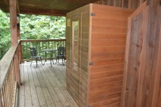 intimate sauna for two!