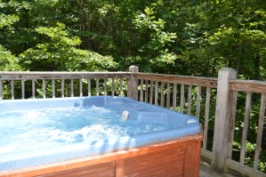 private hot tub romantic couples townsend cabin