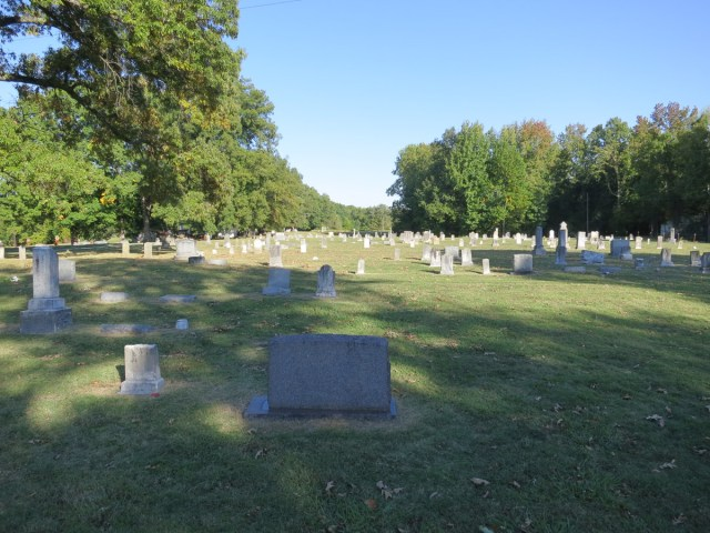 Indian Creek Cemetery in Brighton Tennessee