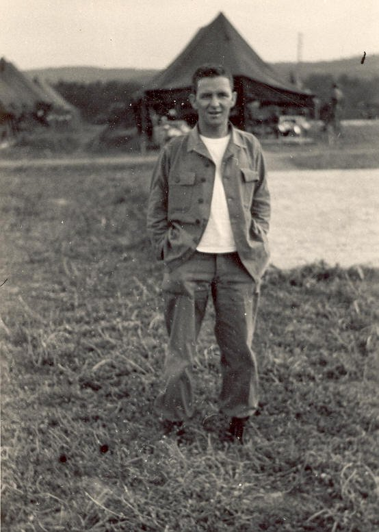 J Tom Williams in the Korean War