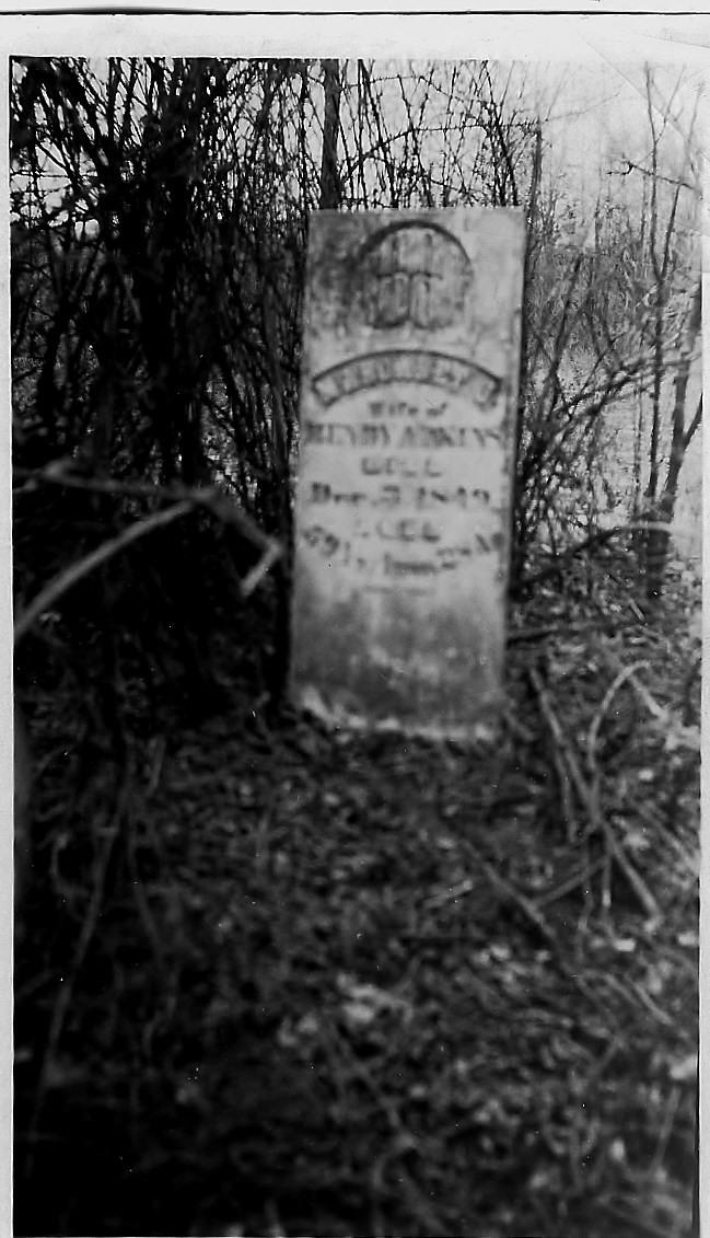 Adkins Family Graveyard Mumford, TN 27 Feb, 1927