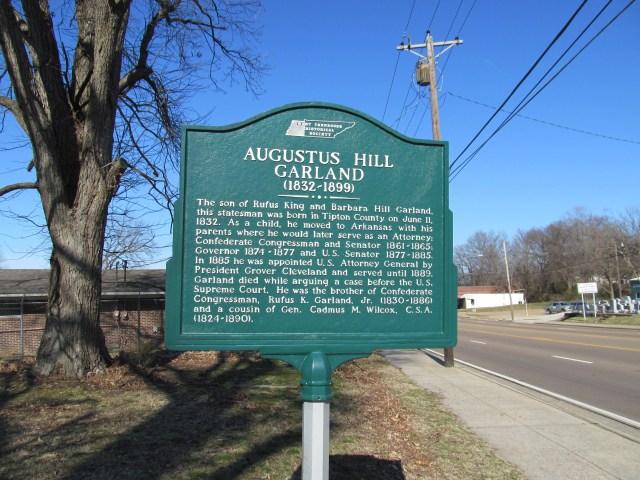 Augustus Hill Garland Marker