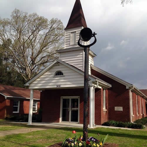 Bethel Cumberland Presbyterian Church with Bell