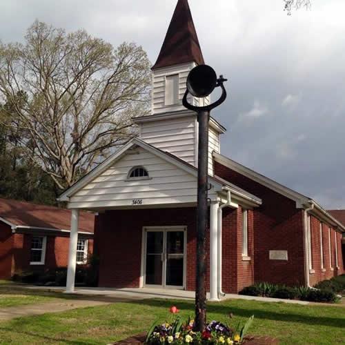 Bethel Cumberland Presbyterian Church with Bell