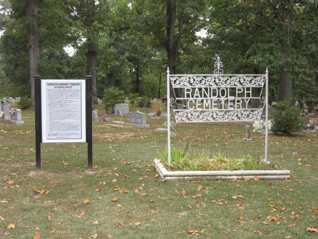 Historic Randolph Cemetery Randolph Tennessee
