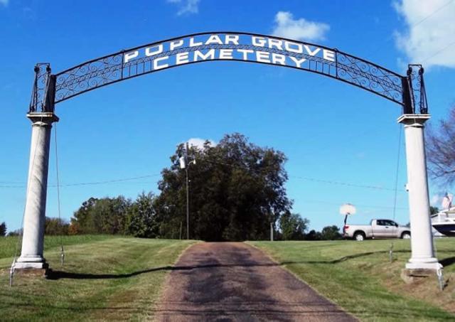Poplar Grove Cemetery Drummonds Tennessee
