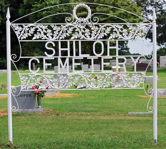 Shiloh Cemetery in Garland Tennessee