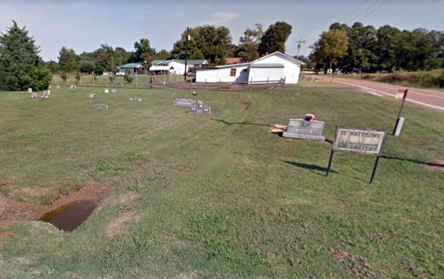 St Matthews Cemetery in Charleston Tennessee