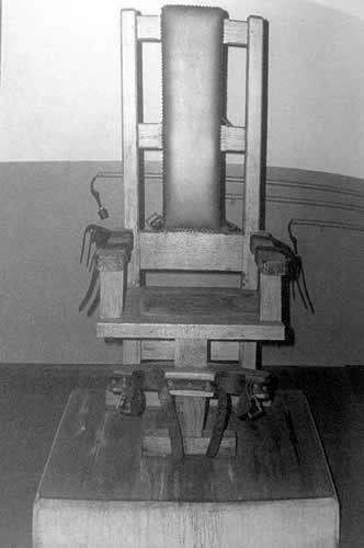 Old Sparky (aka Old Smokey): It is on record that from 1916-1960, 125 men lost their lives in this chair. It is rumored that many more were put to death here than was recorded. Tennessee State Penitentiary