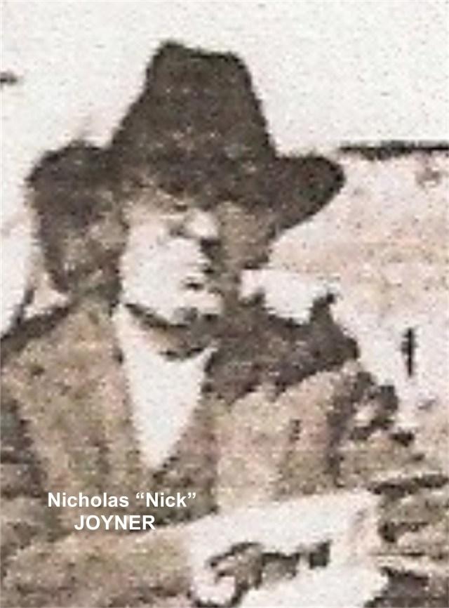 JOYNER Nicholas Nick