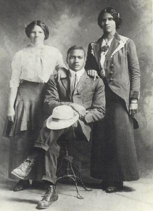 Nathaniel Cheer Harvey Maclin Sr with sisters