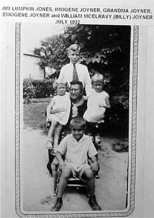 Nickolas & Susie Lumpkin Joyner Family