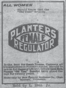 Planters Female Regulator