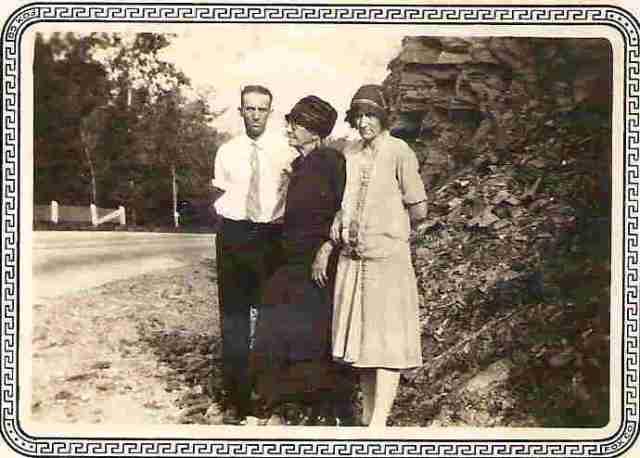 Susie Lumpkin Joyner with Pate & Ella