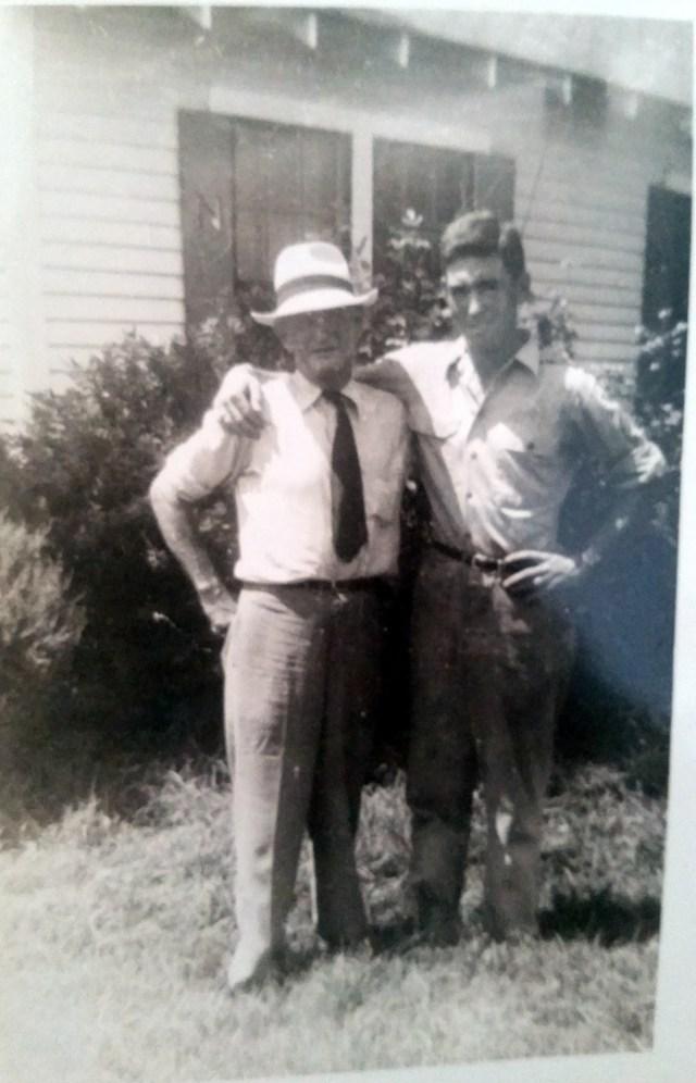 Uncle Richard Nichols and Elbert Royal Nichols Sr