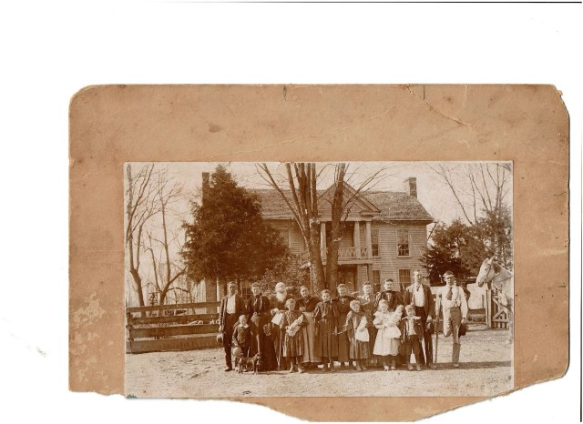 Vaughan Family Tipton County TN be 1910