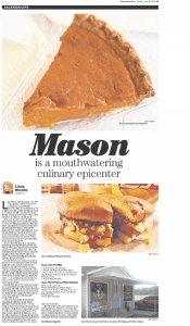 Mason is a Mouthwatering Culinary Epicenter