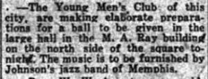 Young Men's Club 1920